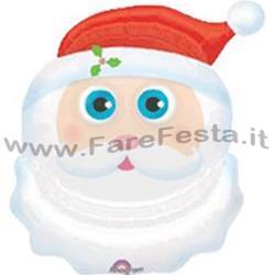 Immagini Viso Babbo Natale.Farefesta Viso Babbo Natale Con Occhi Mobili